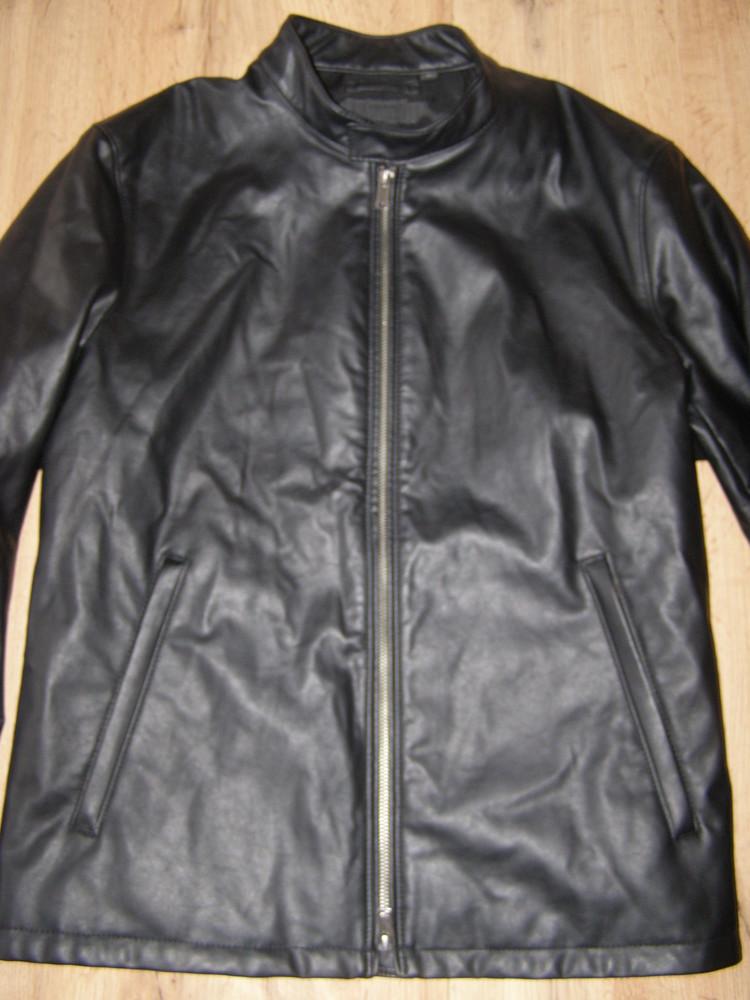 Uniqlo куртка под кожу l-xl-размер фото №1