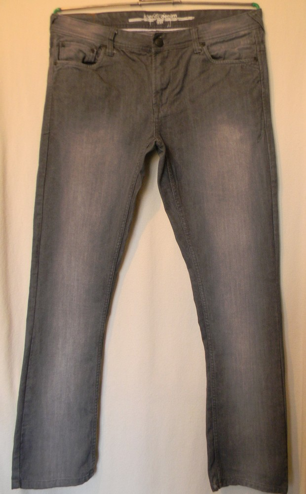 Джинсы мужские identic denim slim fit р.48w33 l32 фото №1