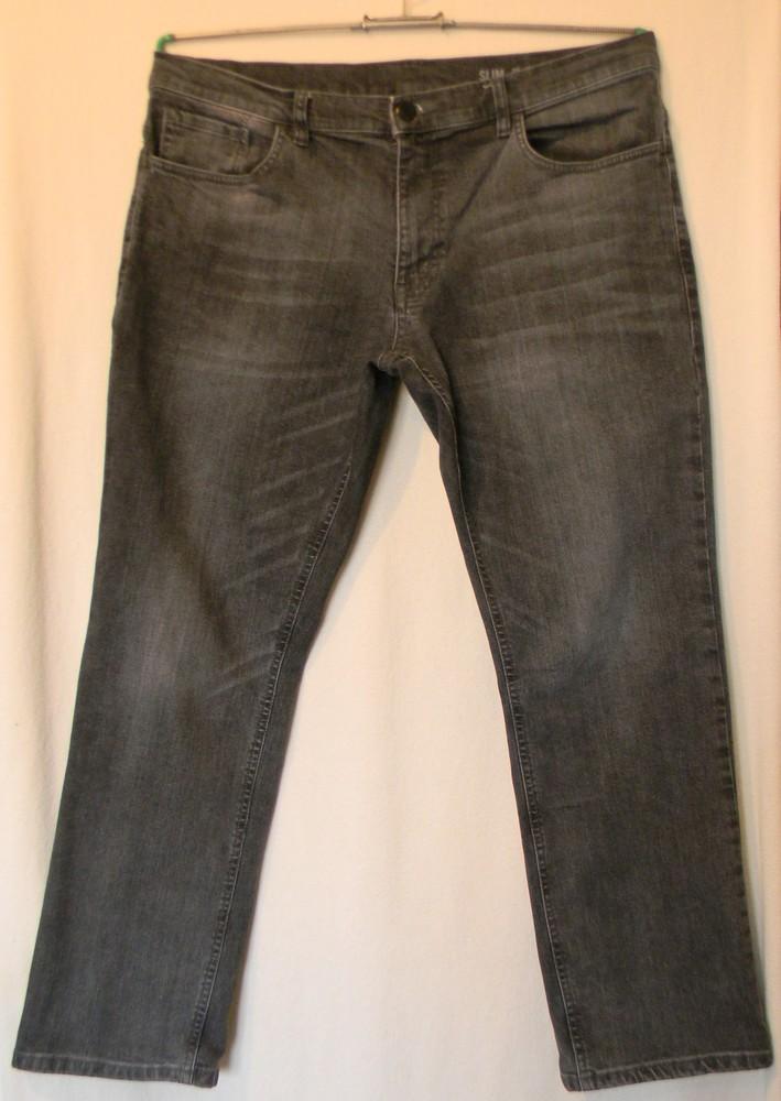 Мужские джинсы f&f slim w38 l30 фото №1