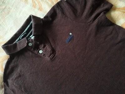 Фирменная футболка поло superdry на размер 48 фото №1