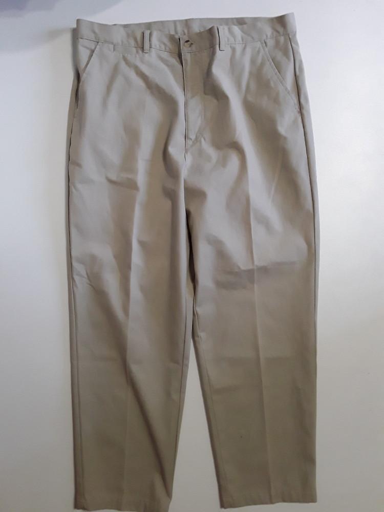Фирменные хлопковые брюки штаны 38р. фото №1