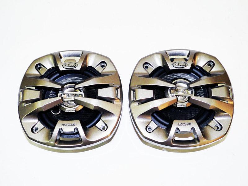 Автоакустика 10см boschmann bm audio xj2-4533 m2 250w 2х полосная фото №1