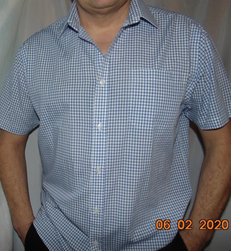 Стильная фирменная рубашка шведка бренд sedarwood state.хл-2хл . фото №1