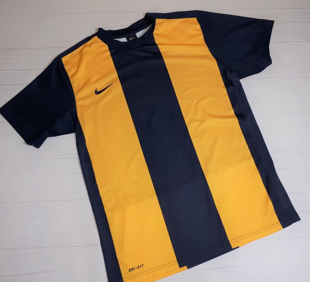 Спортивная футболка nike dri-fit m 46-48 бу оригинал фото №1