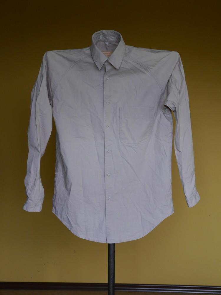 Рубашка бежева на 52-54 розмір фото №1