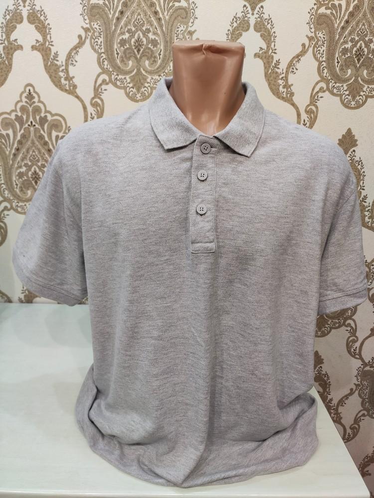 Matalan серая футболка поло, размер l фото №1