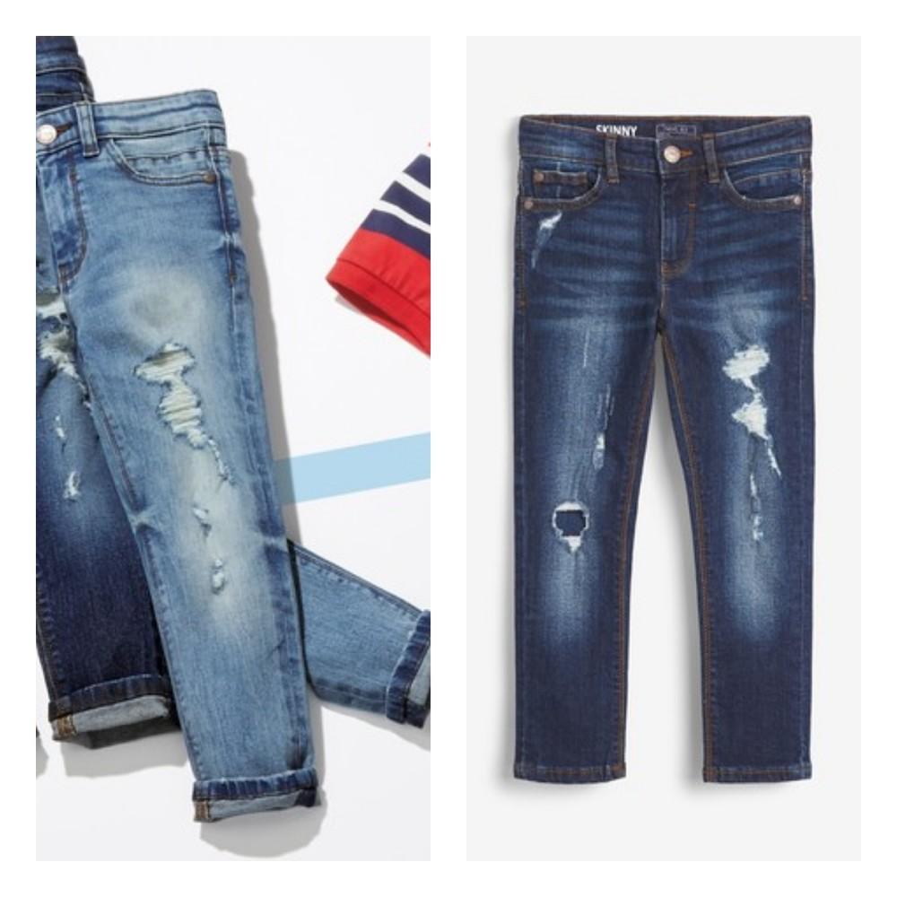 Стильні потерті джинси next для хлопців розм. 3-16 р. під замовлення фото №1