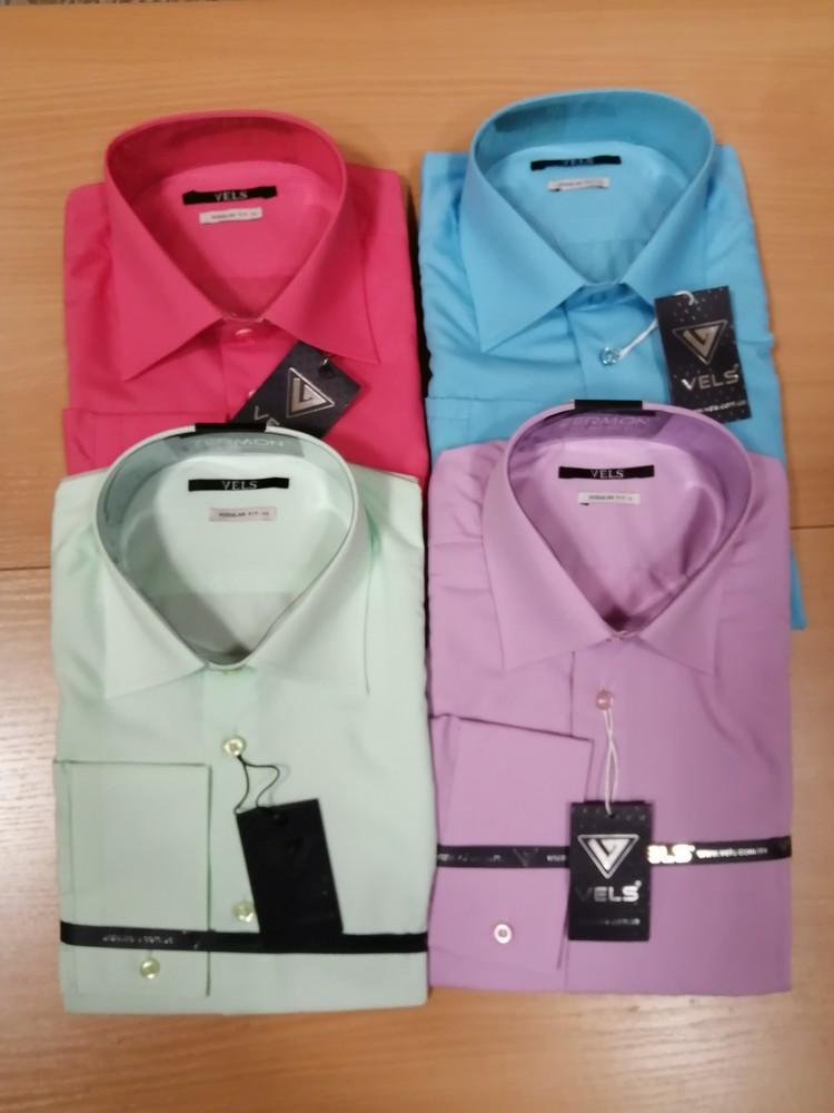 Мужские рубашки, фирмы vels, размеры s, m фото №1