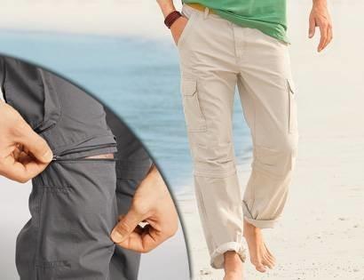 Шикарные хлопковые брюки-штаны-трансформеры watsons, германия, р. 46-48 фото №1