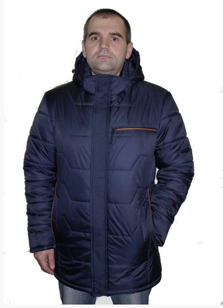 Мужская куртка от производителя на силиконе р48- 62 фото №1