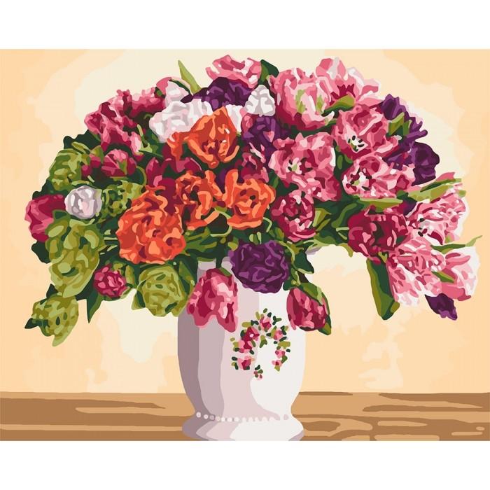 "Картины по номерам ""пышные тюльпаны"", 40х50 (79-2116) фото №1"