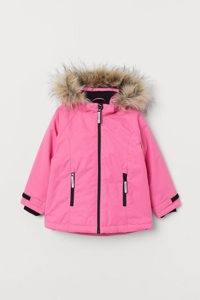 Р.104-110, 110-116 h&m теплая термо-куртка фото №1
