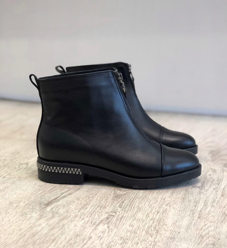 Демисезонные кожаные ботиночки фото №1