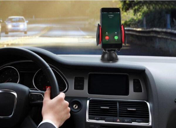Автодержатель для телефона awei x7 car mobile holder фото №1