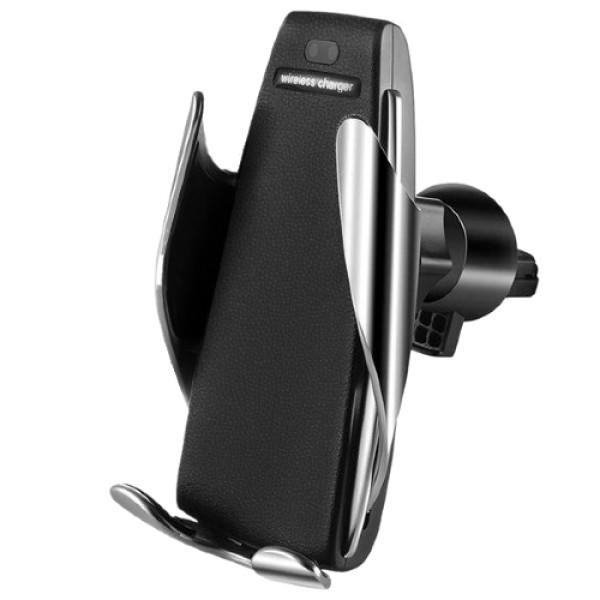 Автомобильный держатель сенсорный с функцией беспроводной зарядки penguin smart sensor s5 фото №1