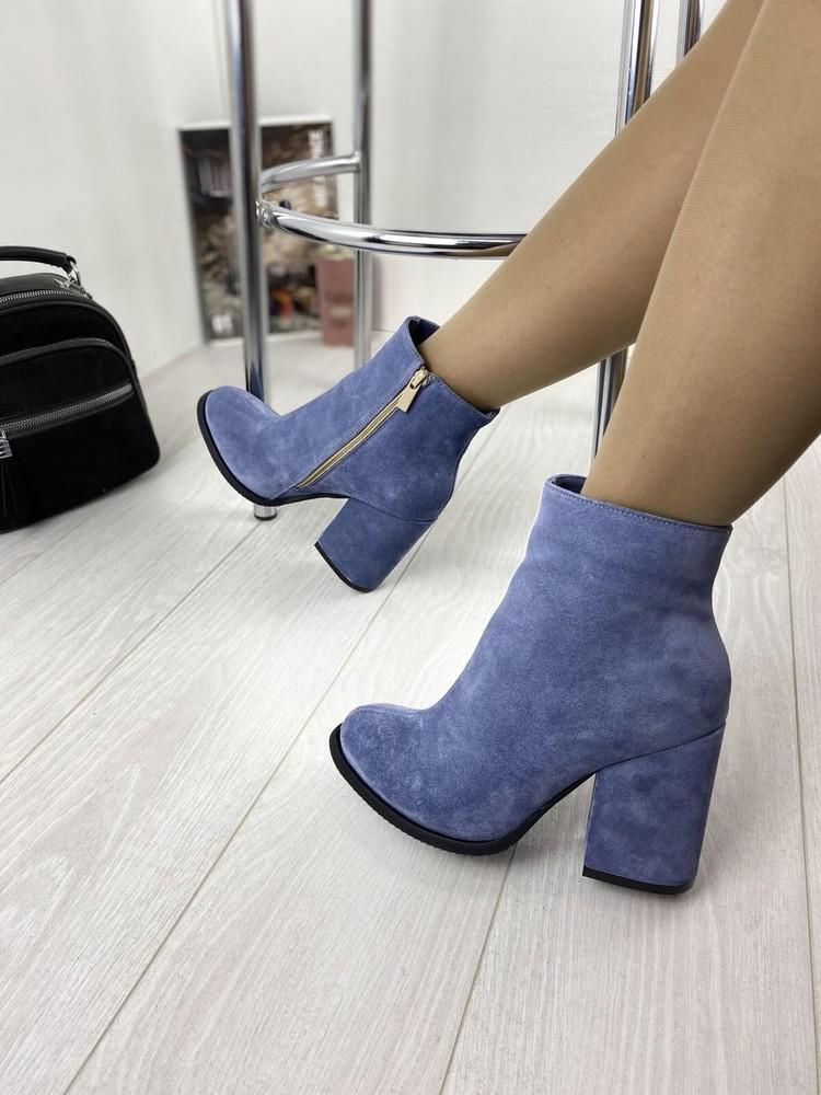 Ботинки женские демисезонные натуральные фото №1