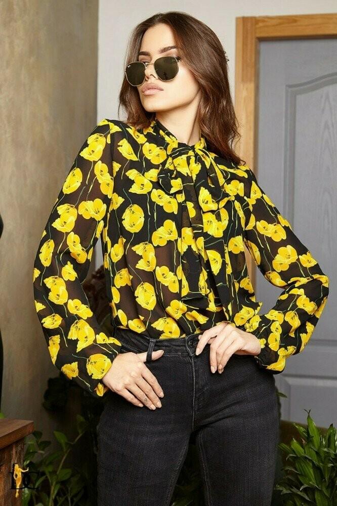Нежная и легкая блуза три расцветки фото №1