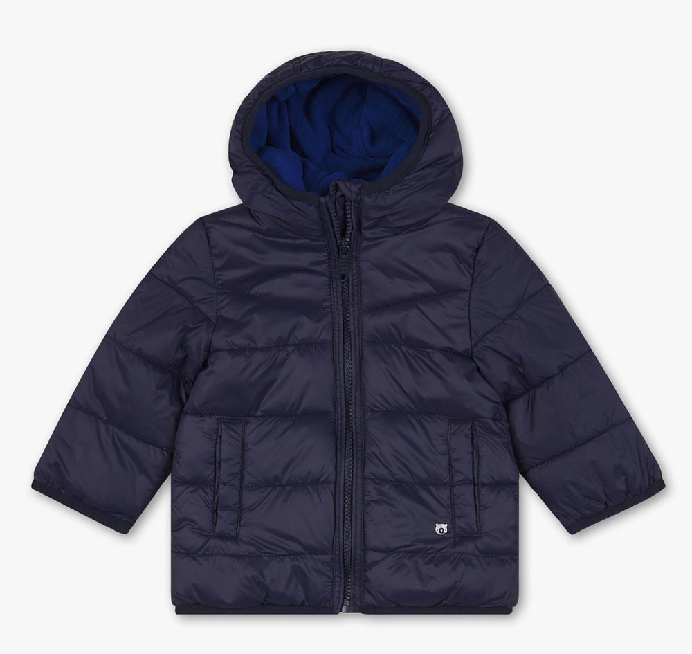 Детская куртка для мальчика до года c&a baby club германия размер 80 синяя фото №1