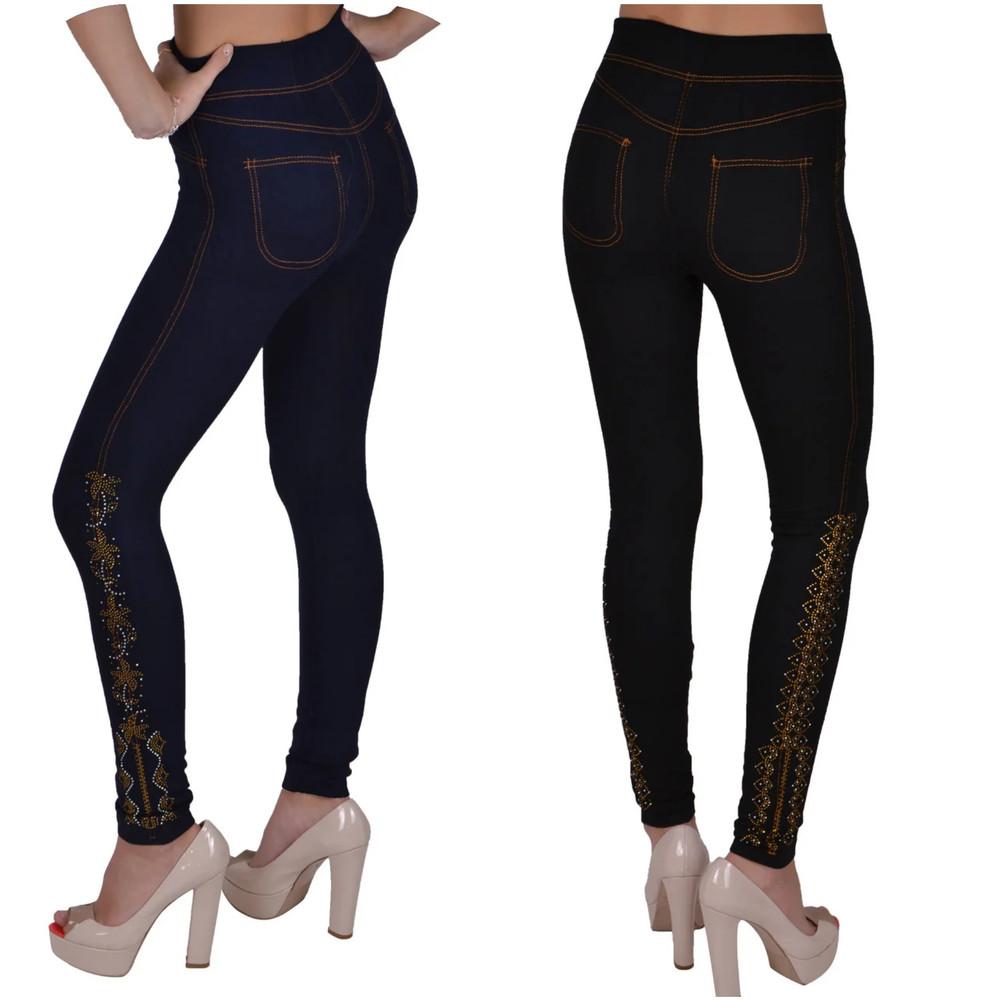 Выкуп в понедельник на жен лосины под джинс по супер цене фото №1