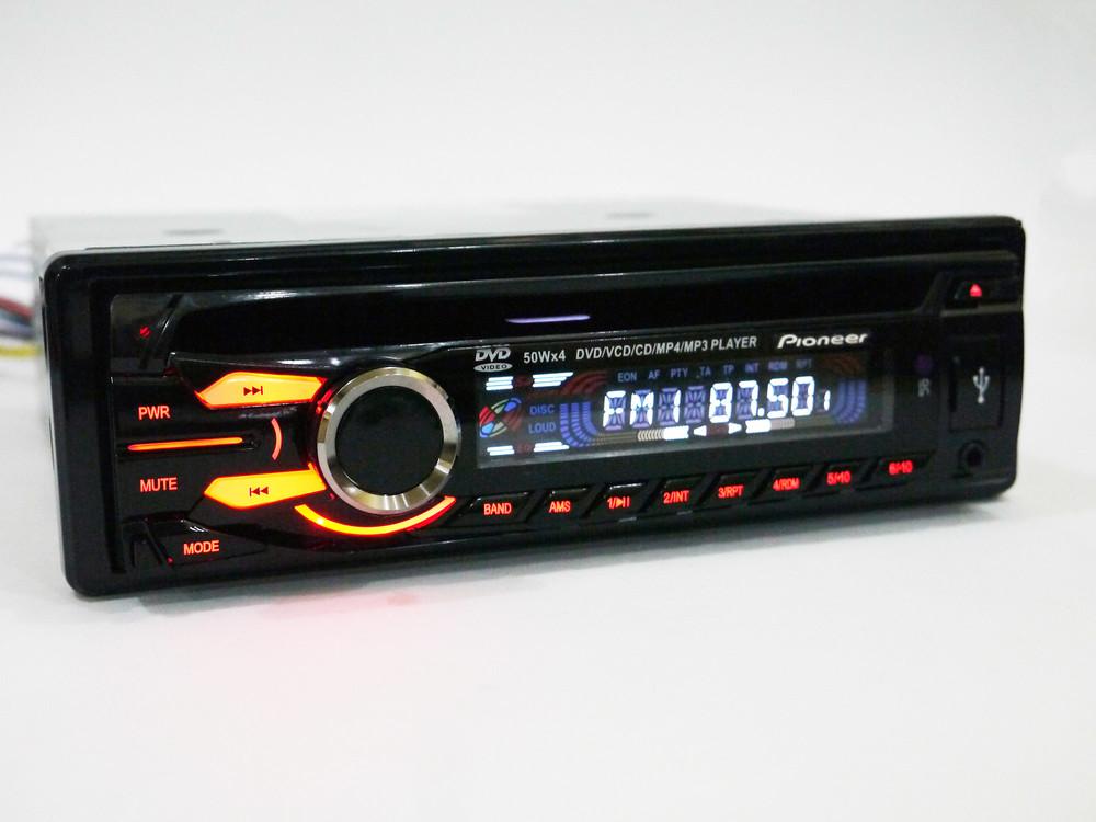 Автомагнитола dvd pioneer 3231 usb, sd, mmc съемная панель фото №1