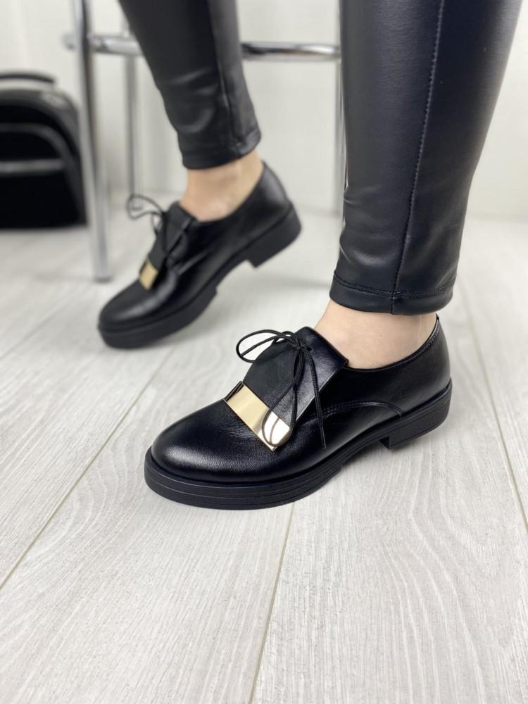 Туфли женские натуральная кожа фото №1