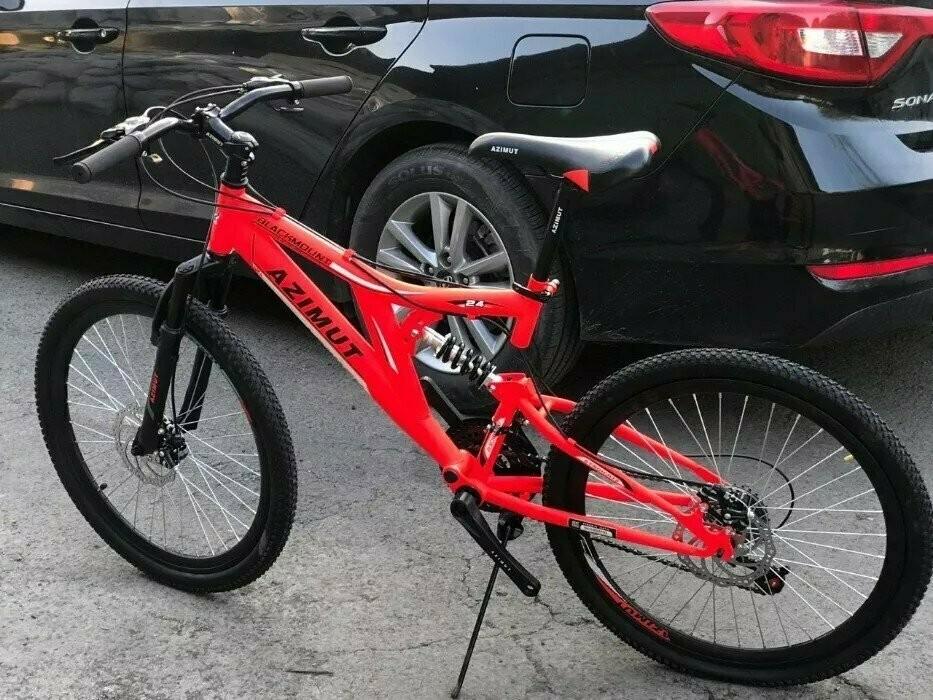 Азимут блекмаунт 24 велосипед горный azimut blackmount фото №1