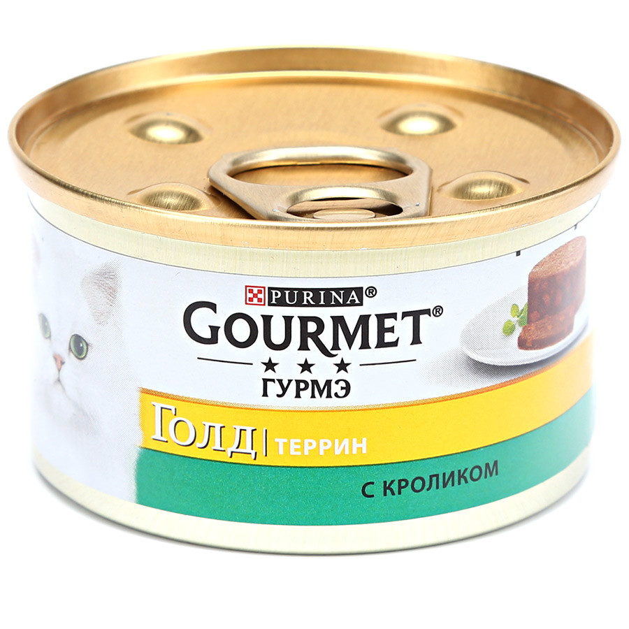 Gourmet gold (гурмет голд) паштет с кроликом доставка бесплатно фото №1
