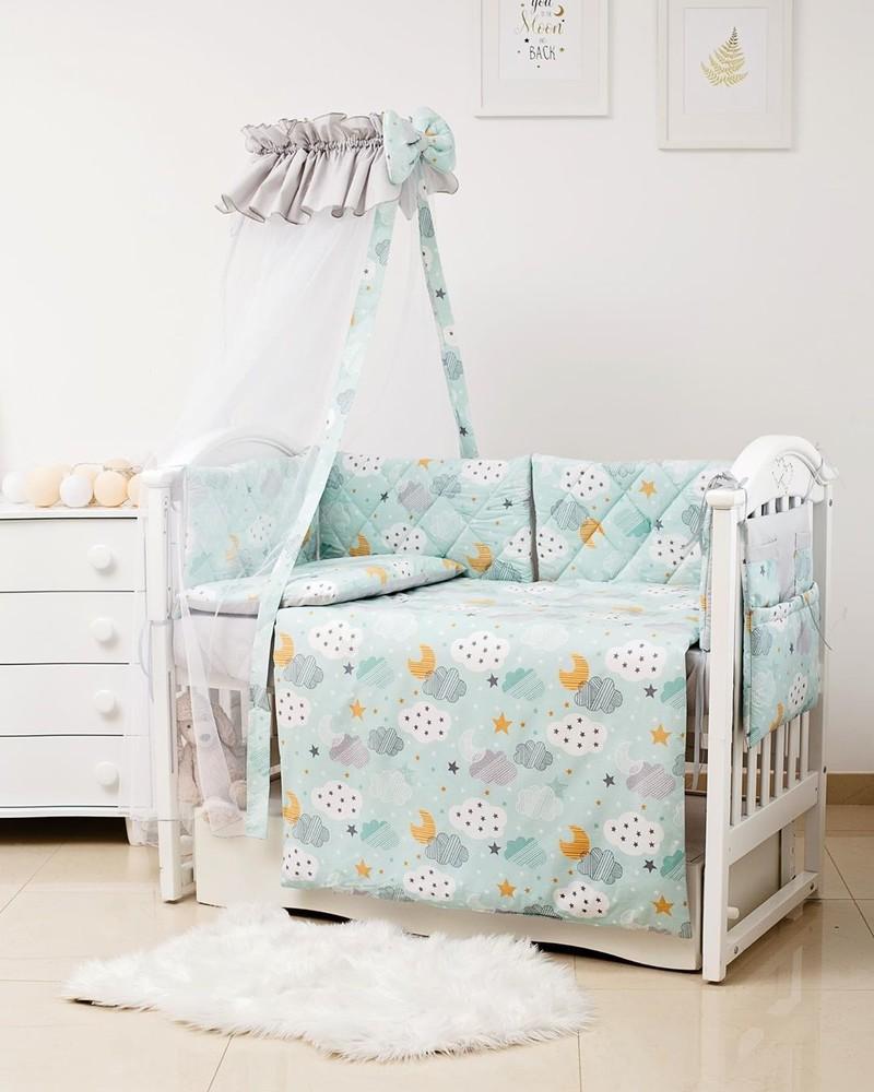 Детское постельное, бортики, балдахин в кроватку гламур фото №1