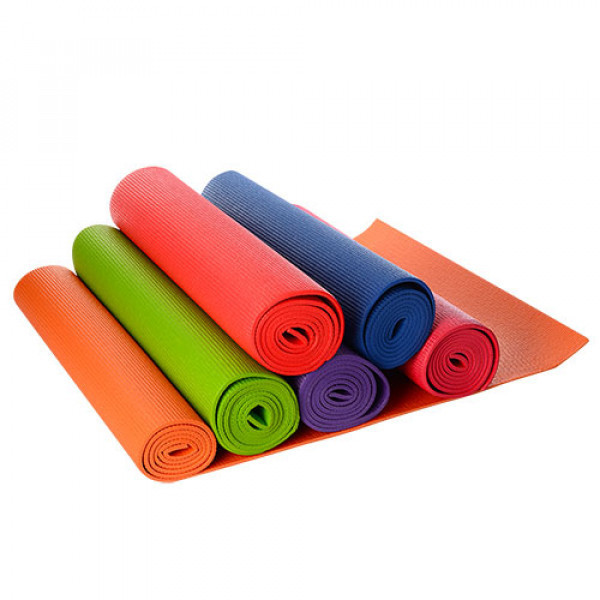 Йогомат коврики profi sport для фитнеса йоги аэробики спорта ms 0205 фото №1