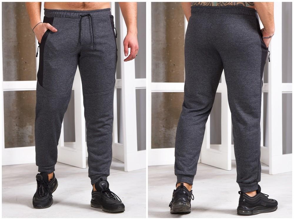 Мужские штаны на манжете 48-56 р-р фото №1
