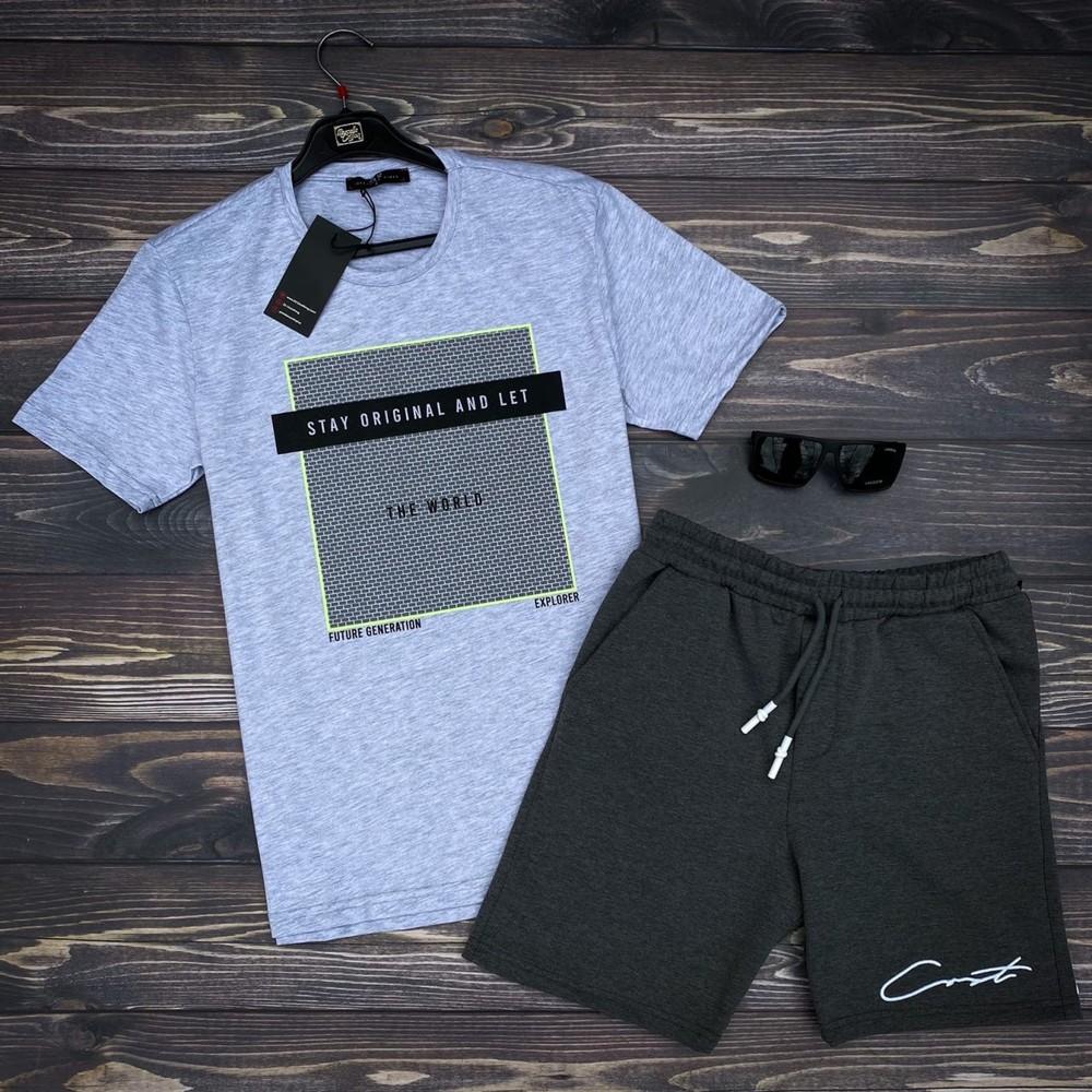 Выгодное предложение!!! комплект футболка шорты и очки фото №1