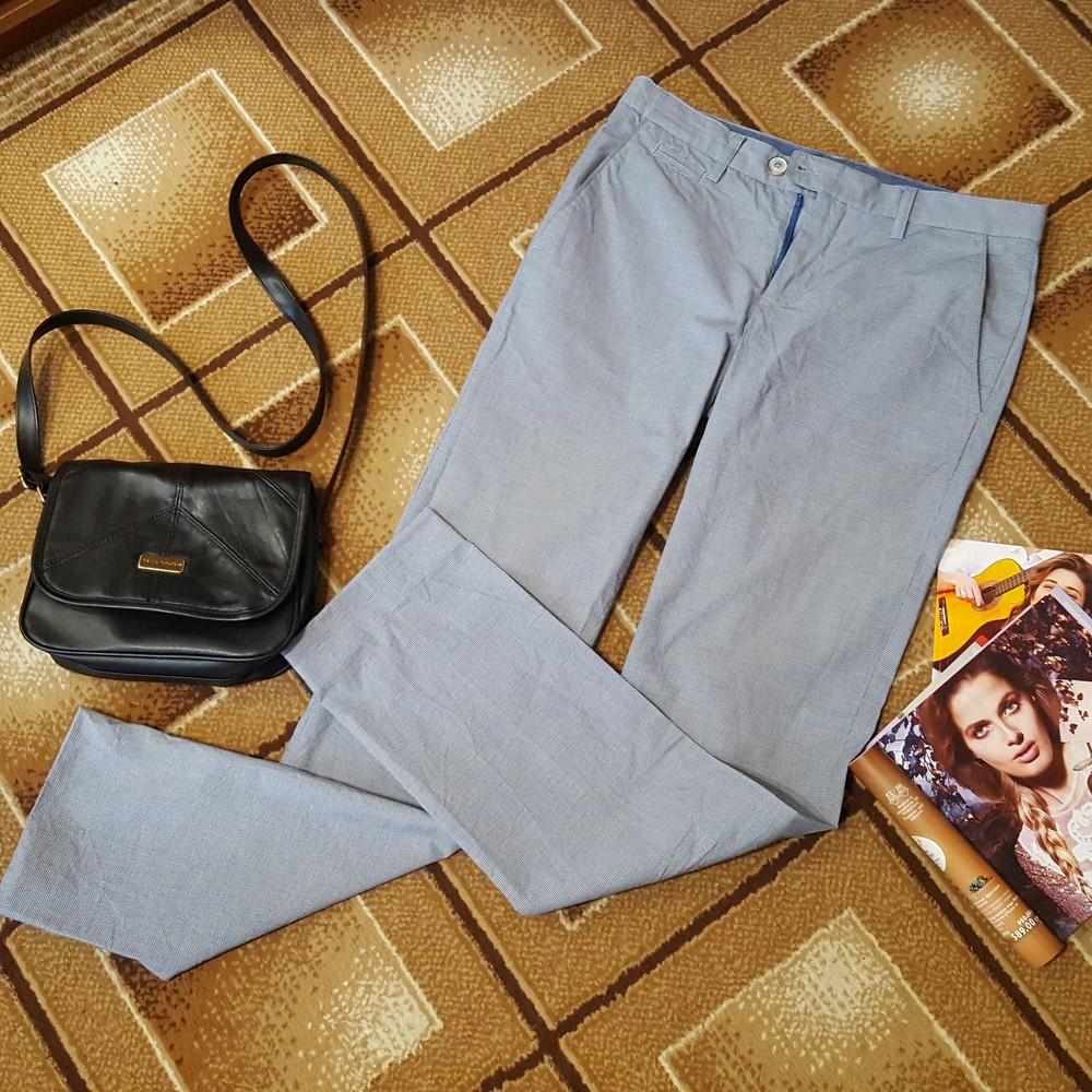 Летние крутые брюки хлопок oodji фото №1