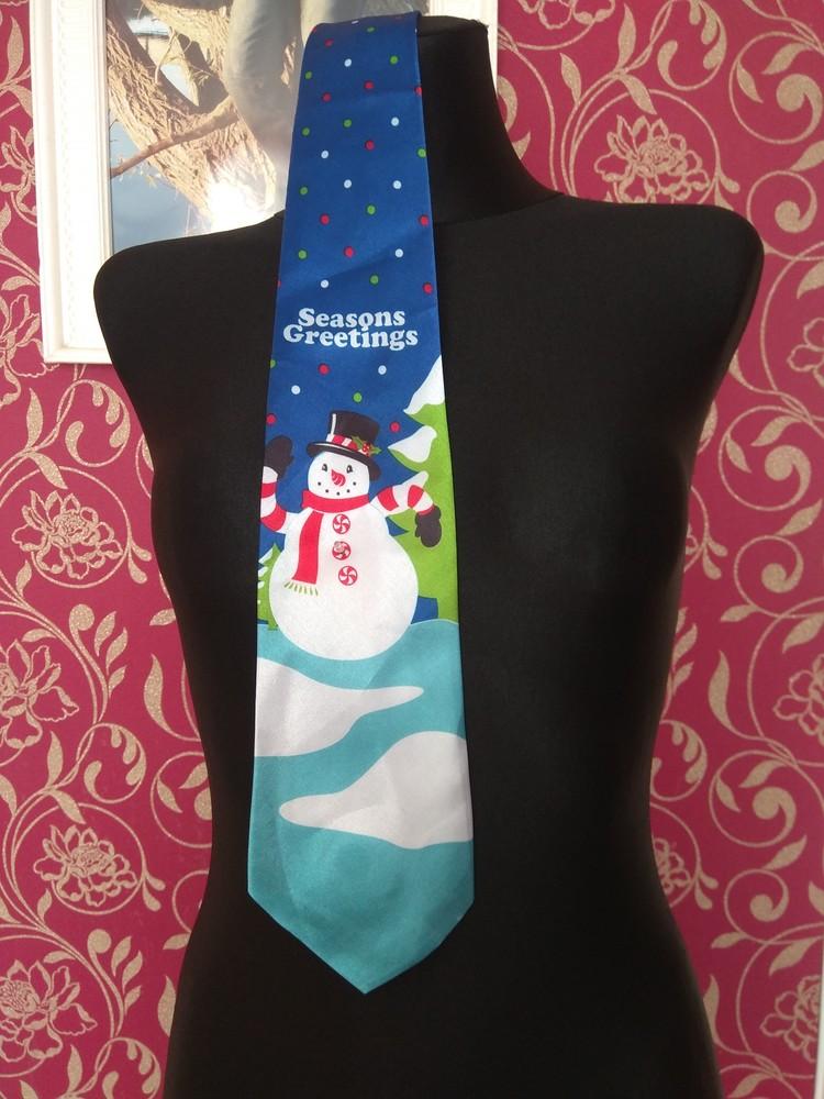Новорічний галстук з музикою фото №1