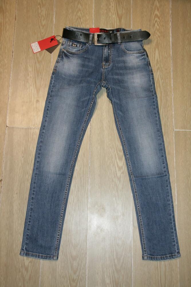 Мужские джинсы resalsa 9610 стрейчевые ,скини 30,33рр фото №1