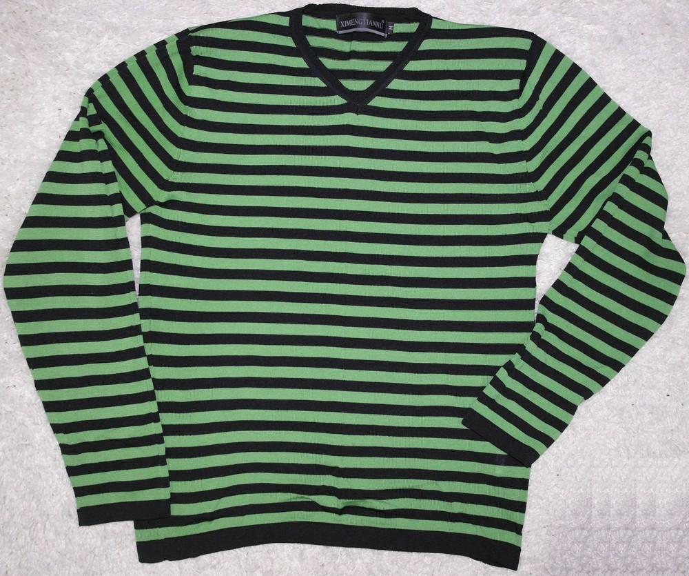 Ximengtiannu пуловер тонкий свитер реглан фото №1