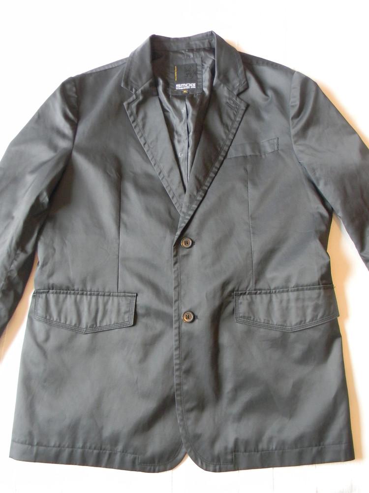 Пиджак блейзер от smog черный р.хl фото №1