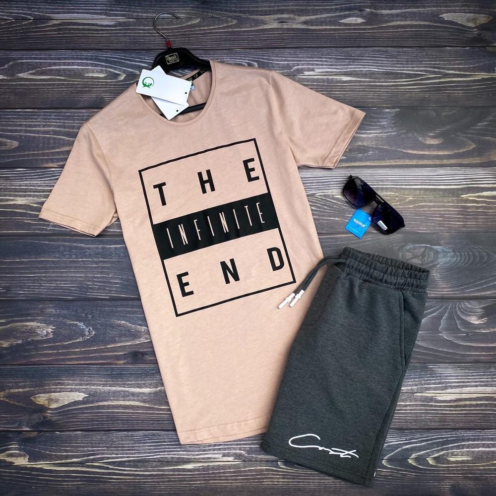 Комплект футболка шорты и очки 4 цвета фото №1