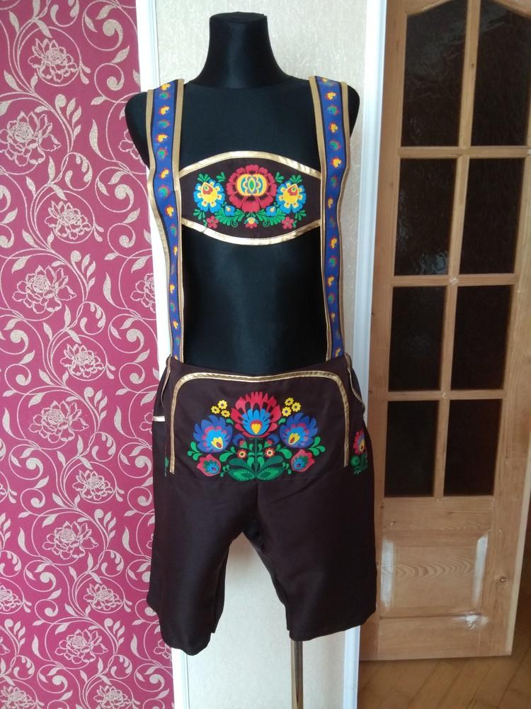 Комбінезон карнавальний коричневий ,розмір large фото №1