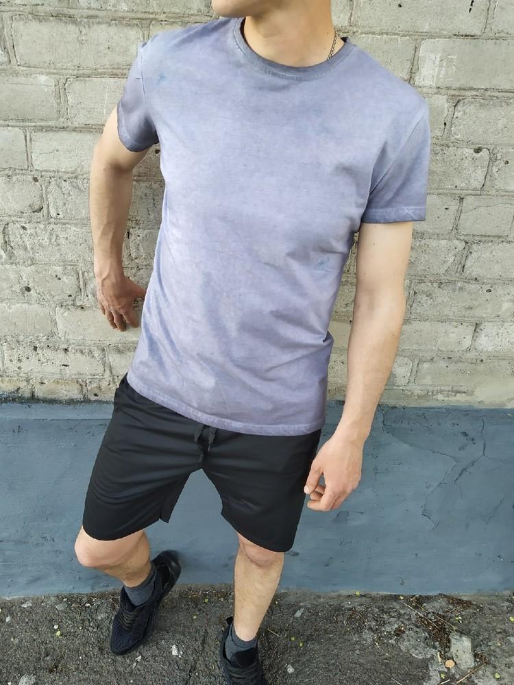 Мужской комплект шорты и футболка фото №1