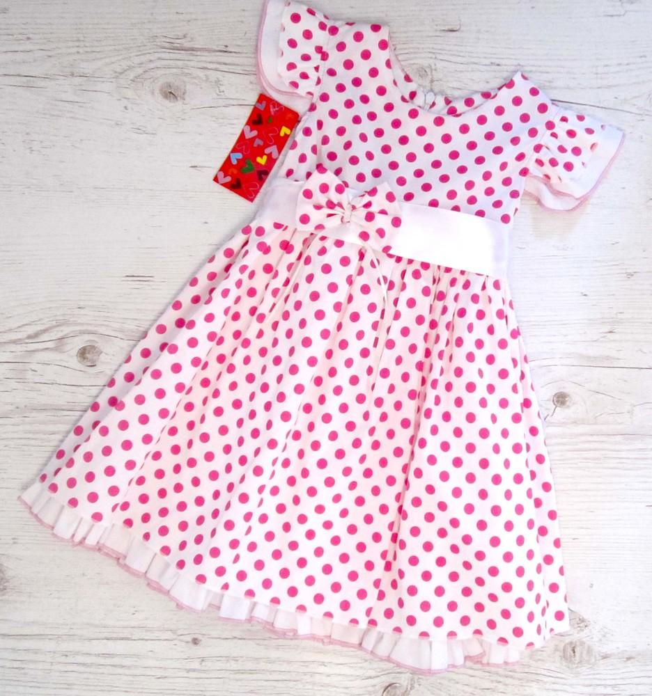 Р.98,122 распродажа! детское летнее платье хлопок фото №1