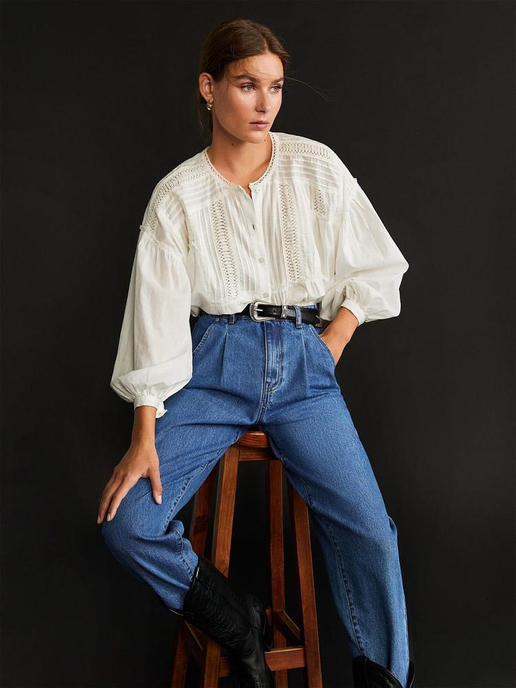 Шикарні джинси mango regina slouchy jeans із іспанії , оригінал фото №1