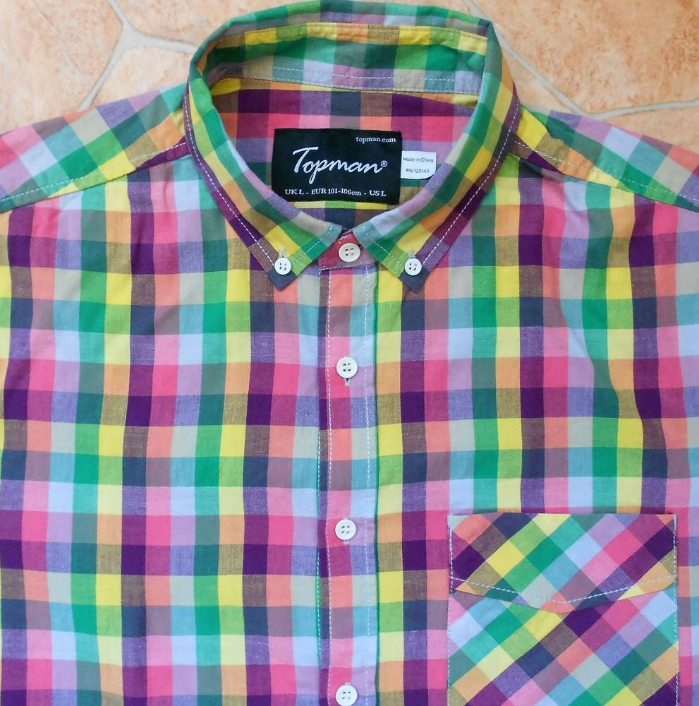 Рубашка topman размер l (50-52) фото №1