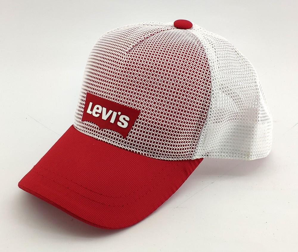 Бейсболка мужская кепка сетка 54 по 58 размер мелкая посадка фото №1