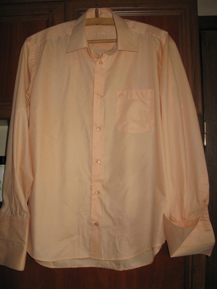 Мужская рубашка под запонки фото №1