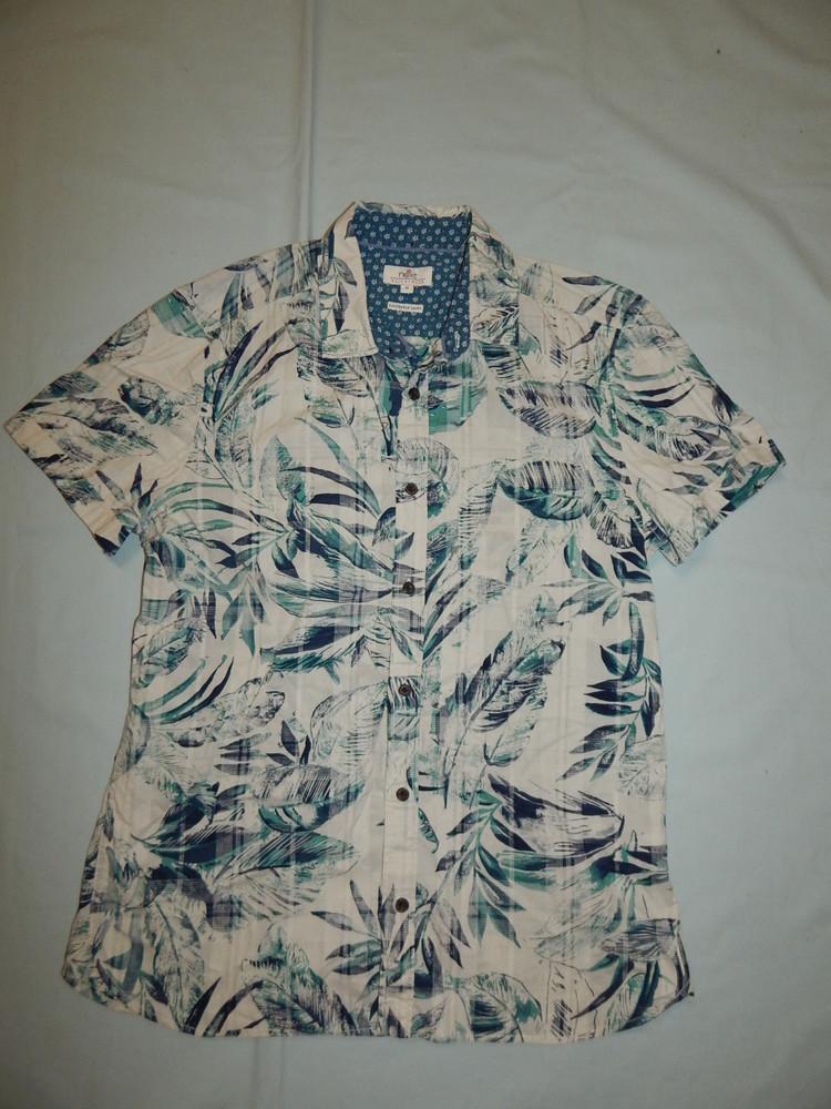 Next рубашка натуральная мужская модная рм фото №1