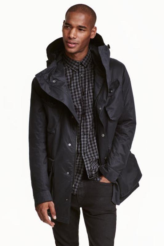 Парка (куртка) курточка h&m р-р. l-xl фото №1
