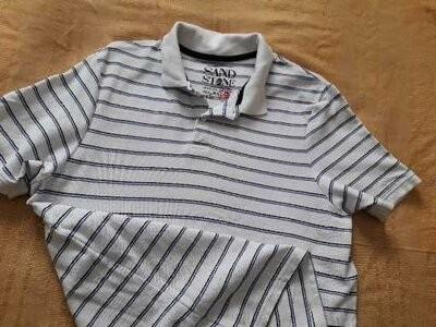 Футболка тениска фирменная sand stone р.46-48 l фото №1