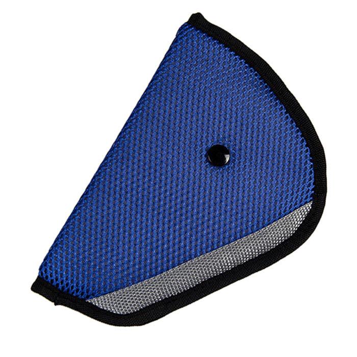 Адаптер на ремень безопасности синий фото №1