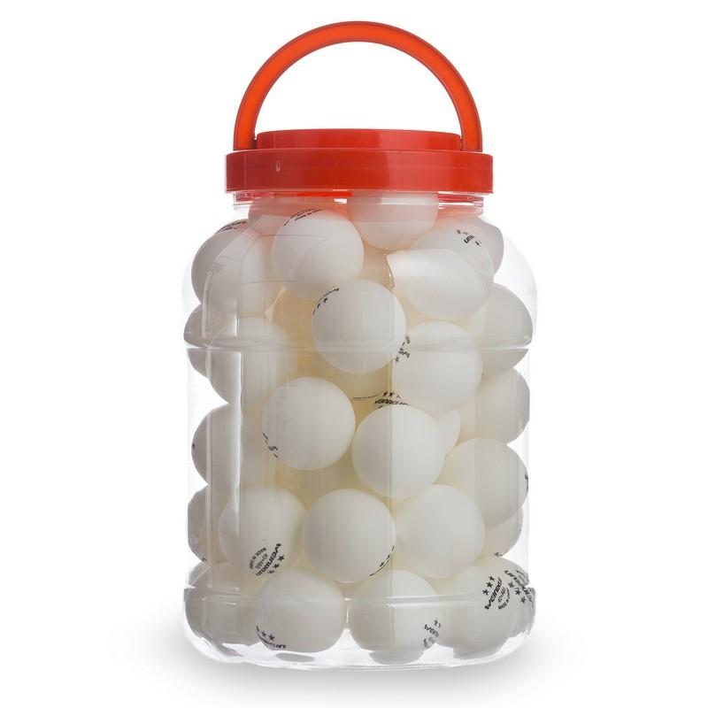 Набор мячей для настольного тенниса weinixun w92 (шарики для настольного тенниса): 60 мячей фото №1
