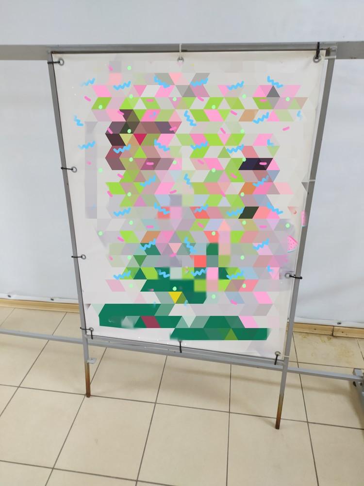 Рекламная стойка, штендер фото №1